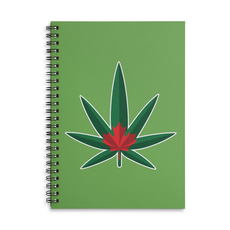 1017 is the new 420 Accessories Lined Spiral Notebook by Dean Cole Design