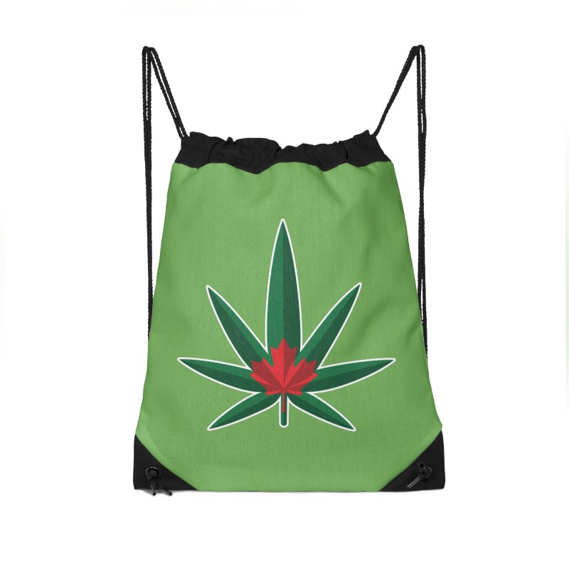 1017 is the new 420 Accessories Drawstring Bag Bag by Dean Cole Design