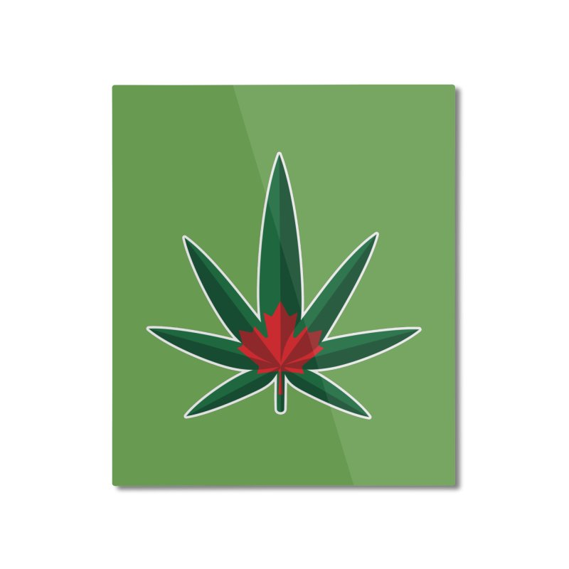 1017 is the new 420 Home Mounted Aluminum Print by Dean Cole Design