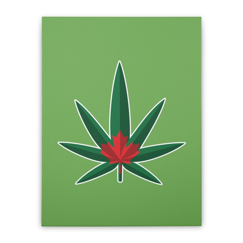 1017 is the new 420 Home Stretched Canvas by Dean Cole Design