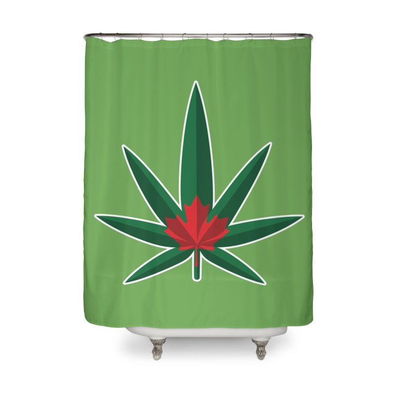 1017 is the new 420 Home Shower Curtain by Dean Cole Design