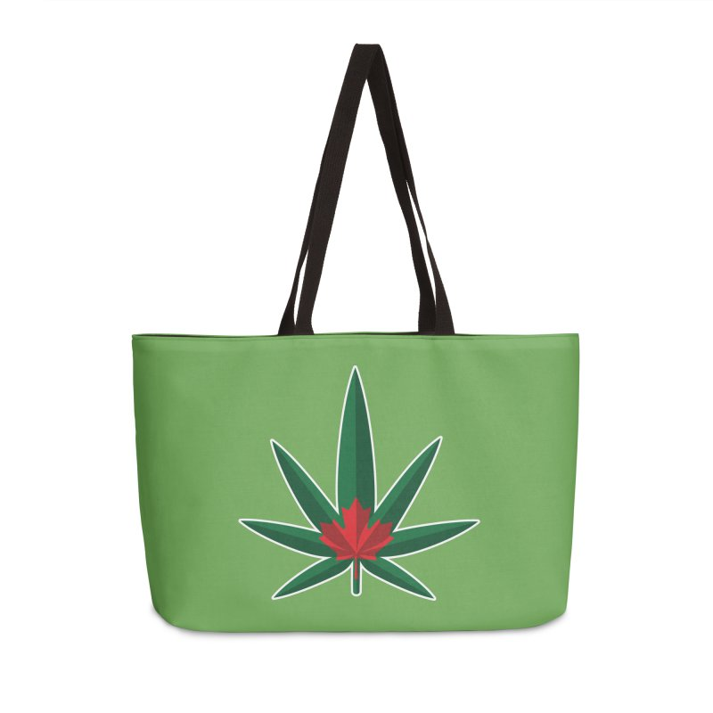 1017 is the new 420 Accessories Weekender Bag Bag by Dean Cole Design