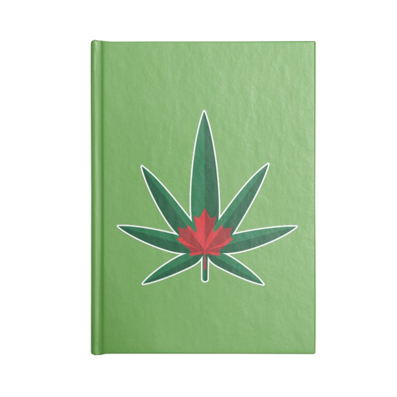1017 is the new 420 Accessories Blank Journal Notebook by Dean Cole Design