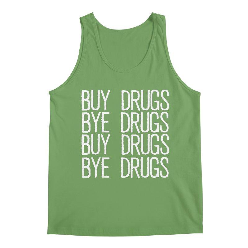 Buy Drugs, Bye Drugs. Men's Tank by Dean Cole Design