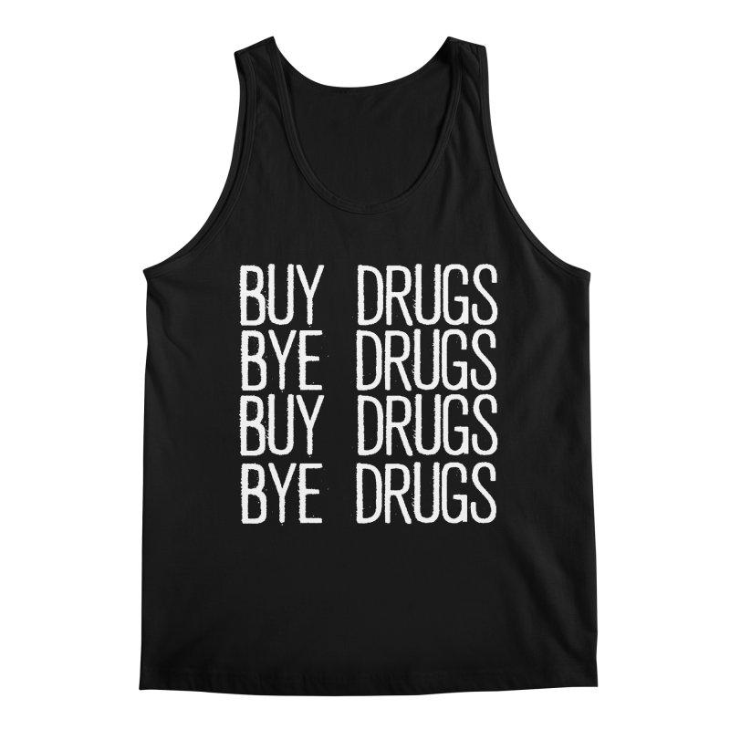 Buy Drugs, Bye Drugs. Men's Regular Tank by Dean Cole Design