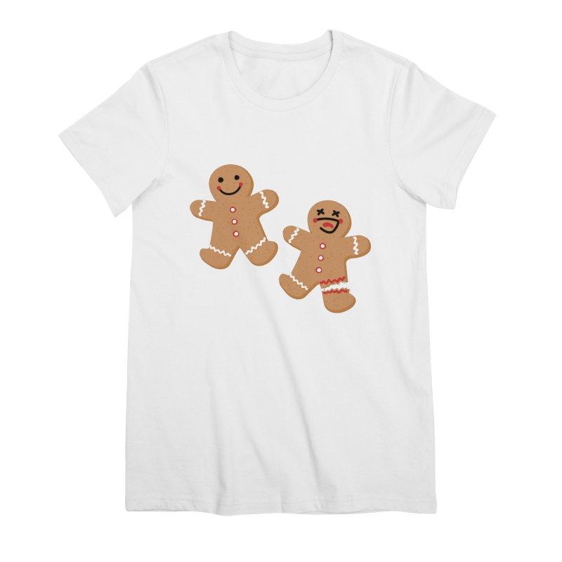 Gingerbread People Women's Premium T-Shirt by Dean Cole Design