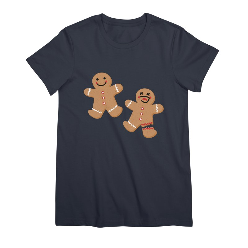 Gingerbread People Women's Premium T-Shirt by Dean Cole Design