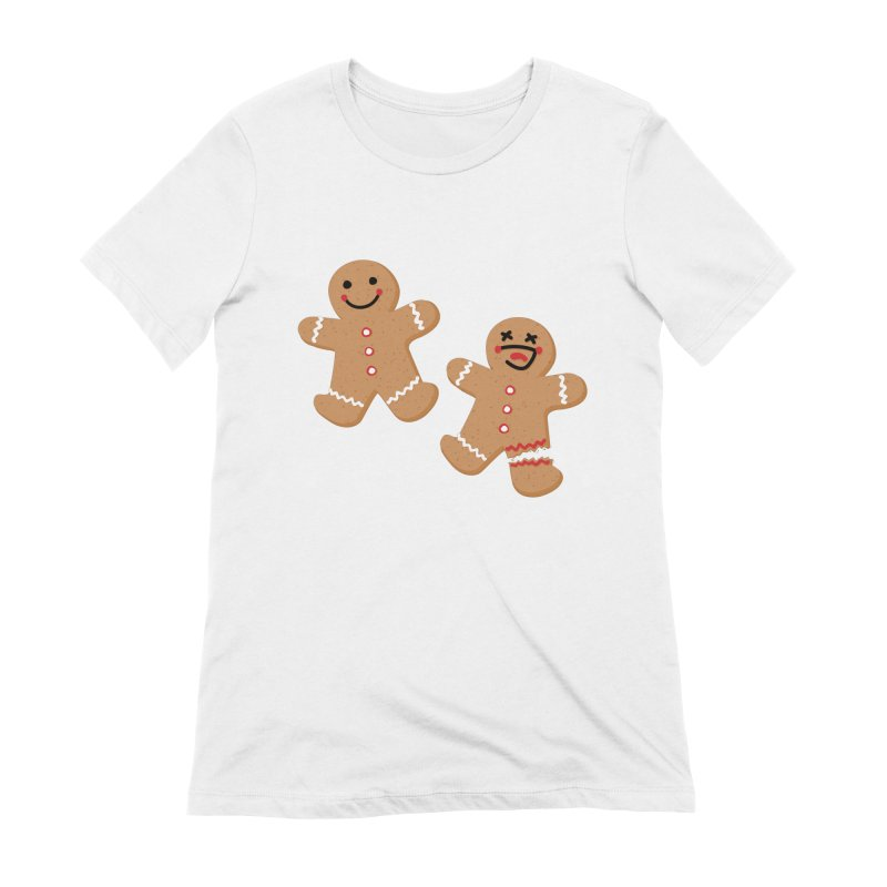 Gingerbread People Women's Extra Soft T-Shirt by Dean Cole Design