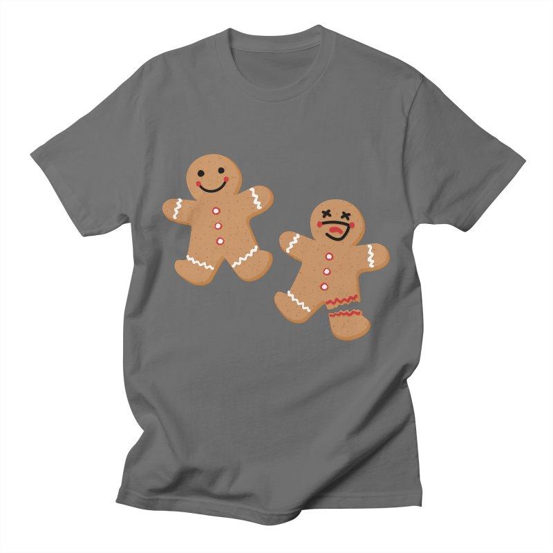 Gingerbread People Men's T-Shirt by Dean Cole Design