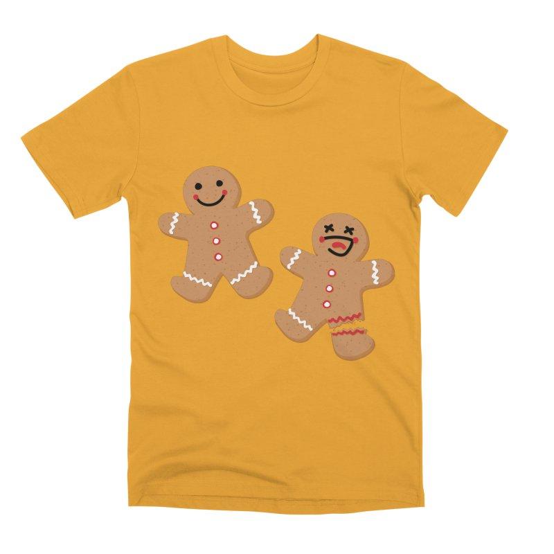 Gingerbread People Men's Premium T-Shirt by Dean Cole Design