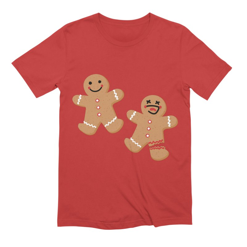Gingerbread People Men's Extra Soft T-Shirt by Dean Cole Design