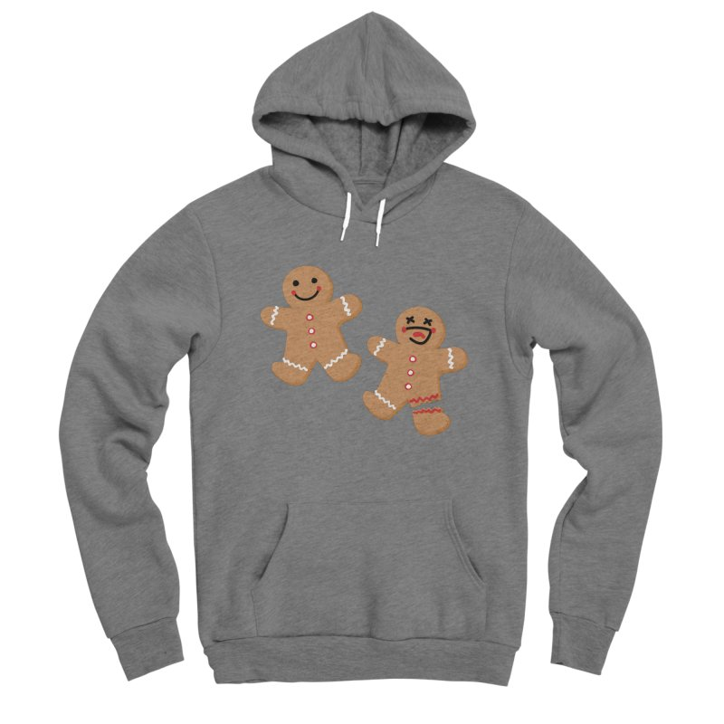 Gingerbread People Men's Sponge Fleece Pullover Hoody by Dean Cole Design