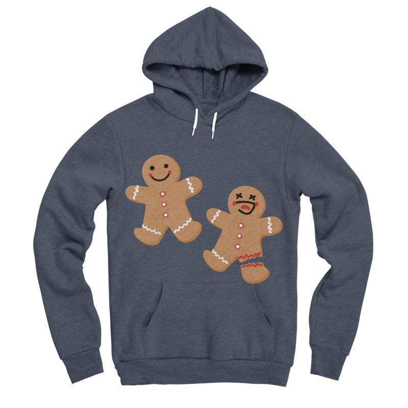 Gingerbread People Women's Sponge Fleece Pullover Hoody by Dean Cole Design