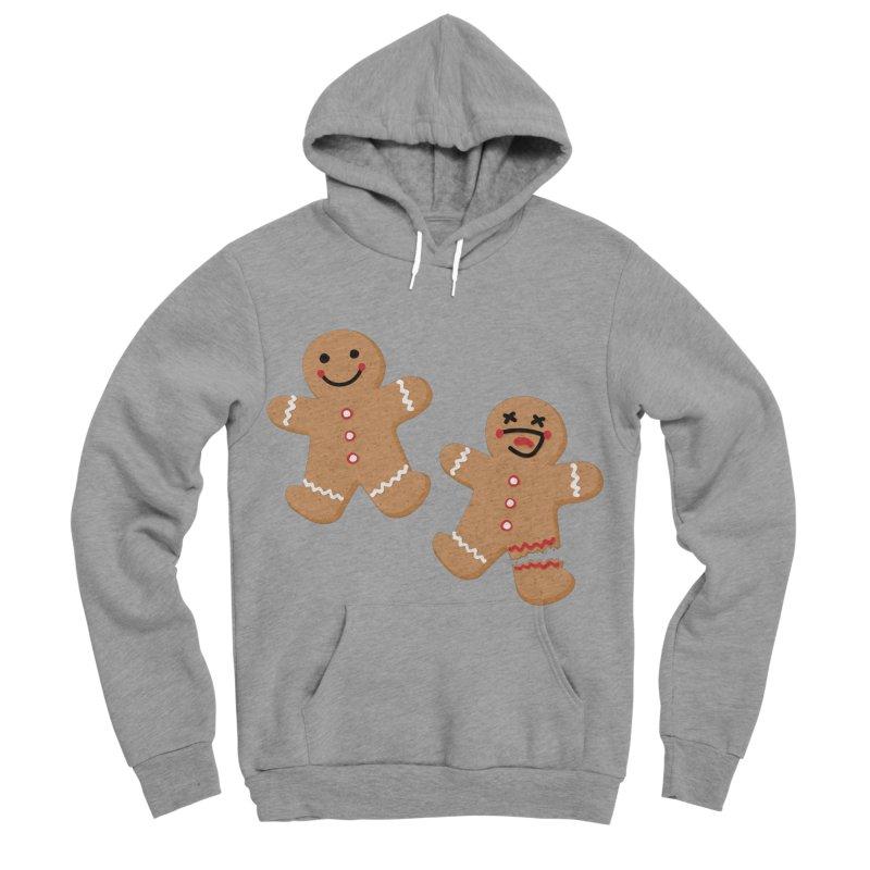 Gingerbread People Men's Sponge Fleece Pullover Hoody by Dean Cole Design