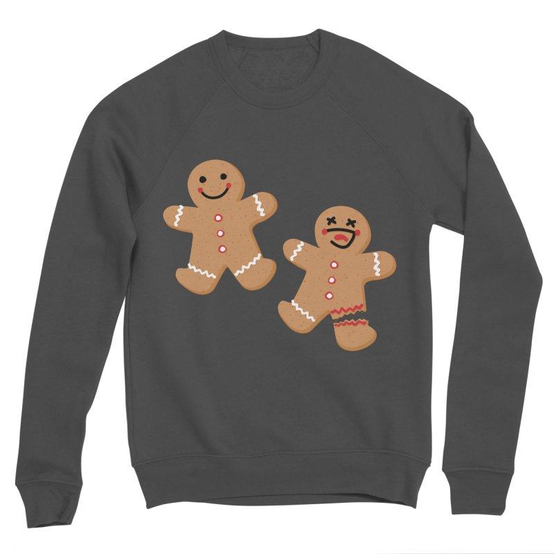 Gingerbread People Women's Sponge Fleece Sweatshirt by Dean Cole Design