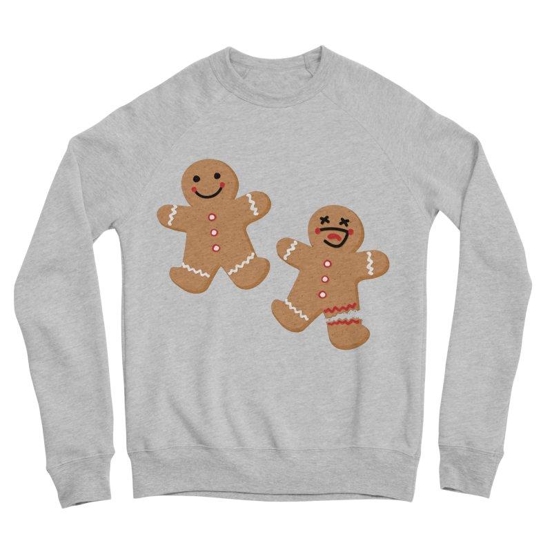 Gingerbread People Men's Sponge Fleece Sweatshirt by Dean Cole Design