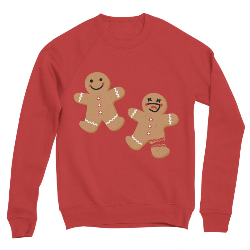 Gingerbread People Women's Sponge Fleece Sweatshirt by Dean Cole Design