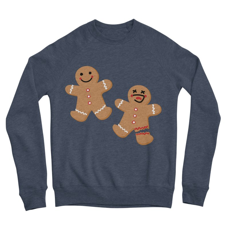 Gingerbread People Men's Sponge Fleece Sweatshirt by Dean Cole Design