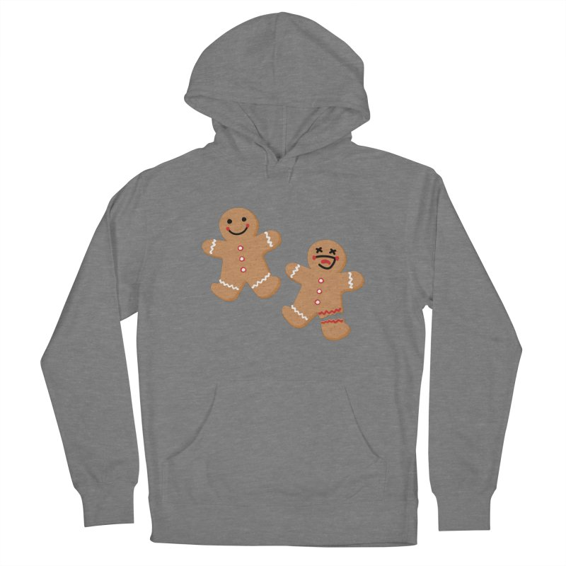 Gingerbread People Women's Pullover Hoody by Dean Cole Design