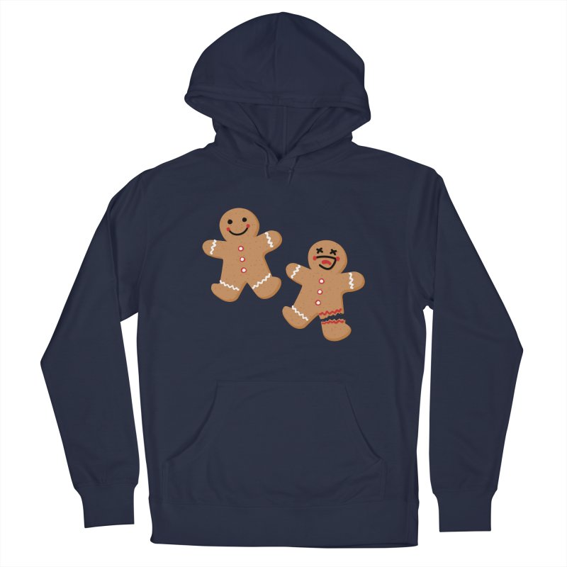 Gingerbread People Men's Pullover Hoody by Dean Cole Design