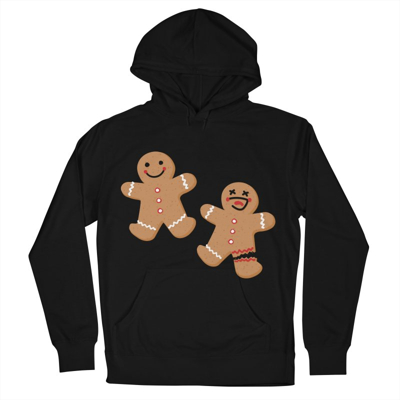 Gingerbread People Men's French Terry Pullover Hoody by Dean Cole Design