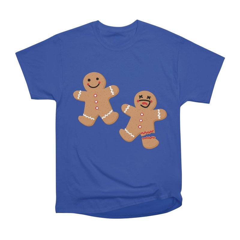 Gingerbread People Women's Heavyweight Unisex T-Shirt by Dean Cole Design