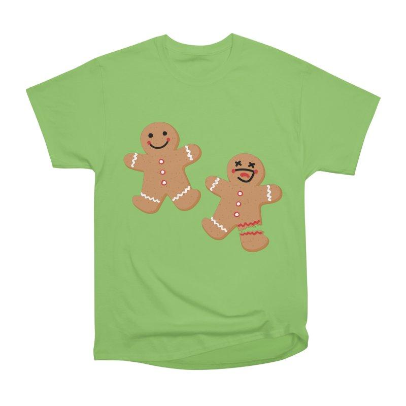 Gingerbread People Men's Heavyweight T-Shirt by Dean Cole Design