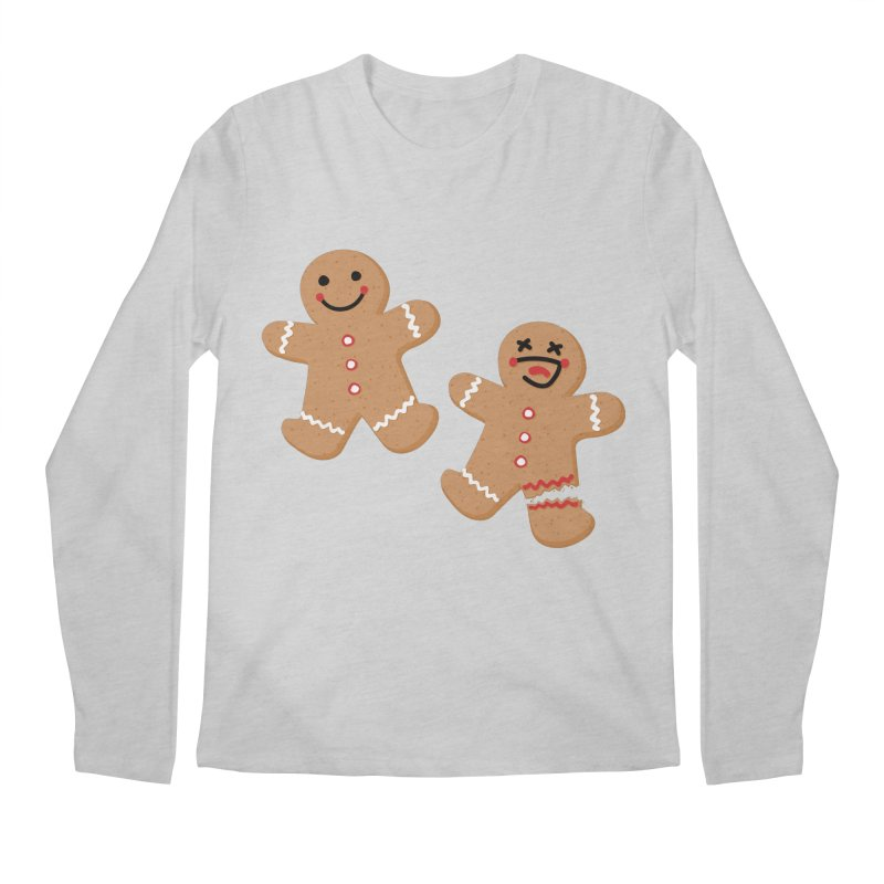 Gingerbread People Men's Regular Longsleeve T-Shirt by Dean Cole Design