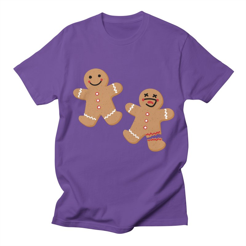 Gingerbread People Men's Regular T-Shirt by Dean Cole Design