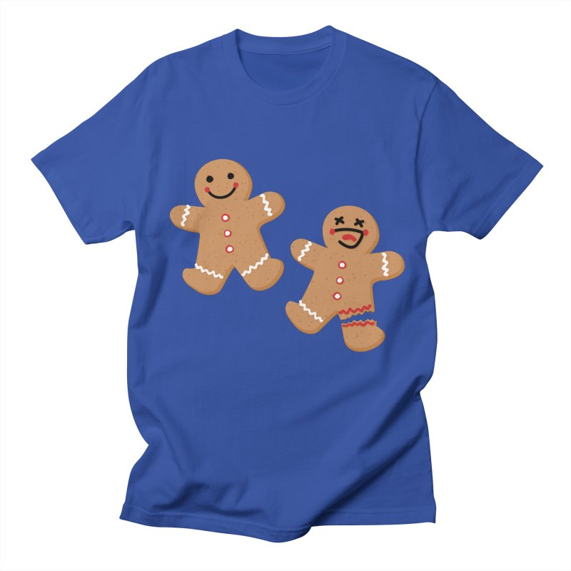 Gingerbread People Women's Regular Unisex T-Shirt by Dean Cole Design