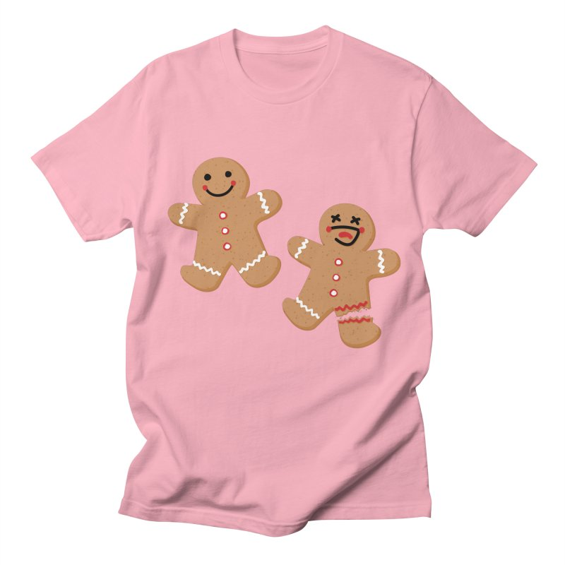 Gingerbread People Women's Regular Unisex T-Shirt by Dean Cole Design