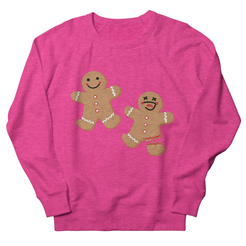 Gingerbread People Women's French Terry Sweatshirt by Dean Cole Design
