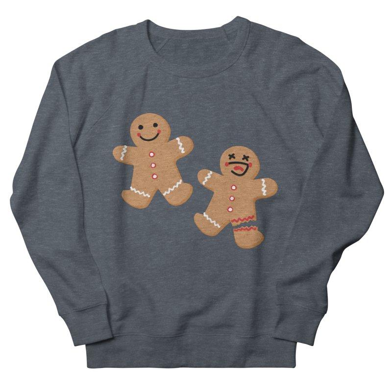 Gingerbread People Men's Sweatshirt by Dean Cole Design