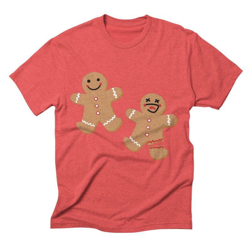 Gingerbread People Men's Triblend T-Shirt by Dean Cole Design