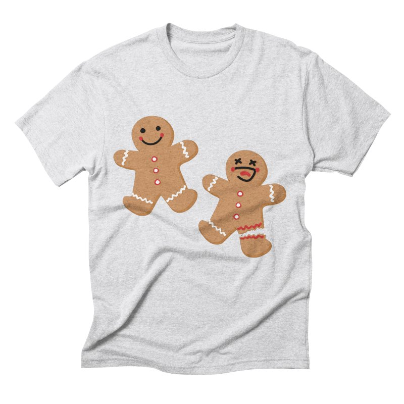 Gingerbread People Men's Triblend T-Shirt by Dean Cole Design