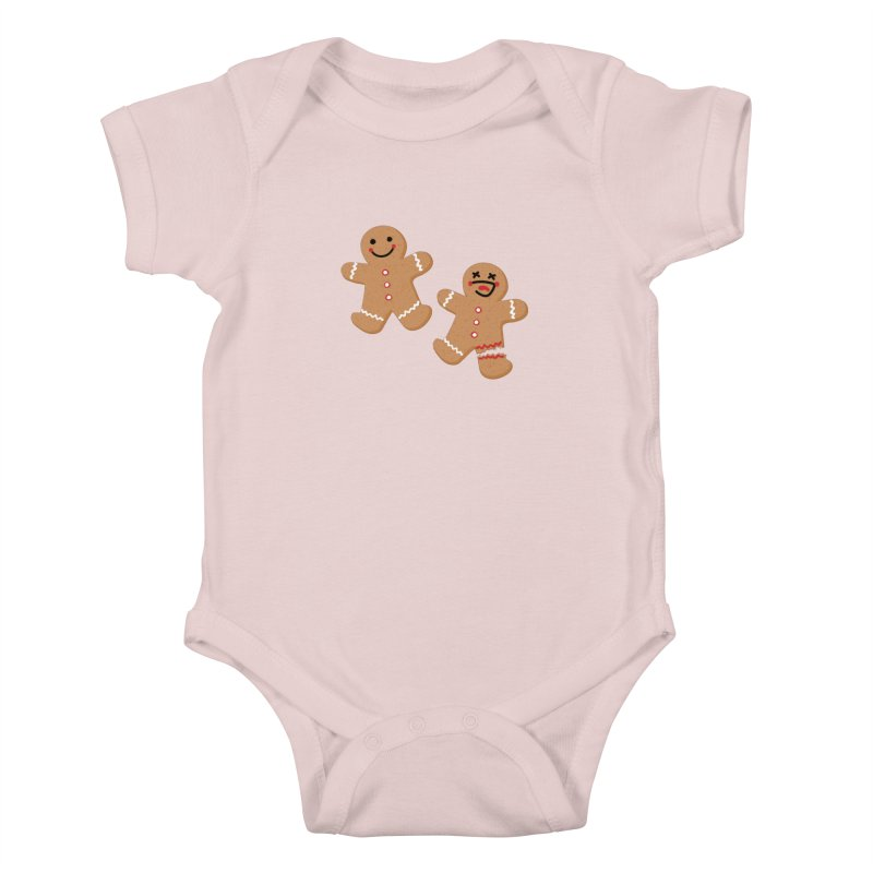 Gingerbread People Kids Baby Bodysuit by Dean Cole Design