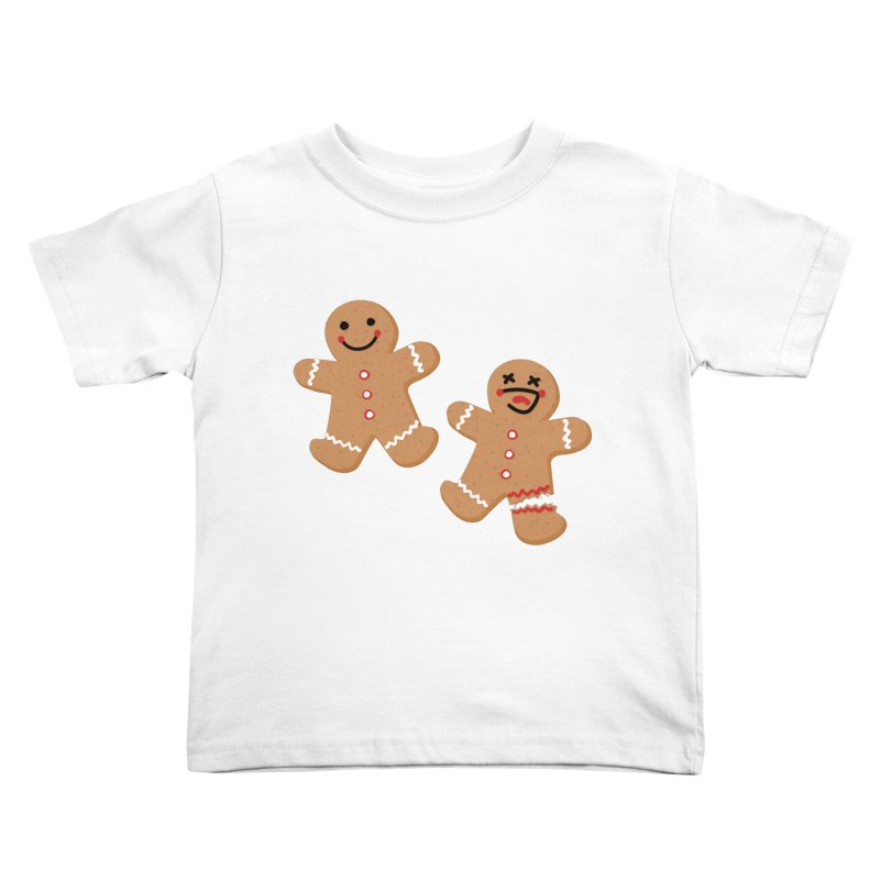 Gingerbread People Kids Toddler T-Shirt by Dean Cole Design