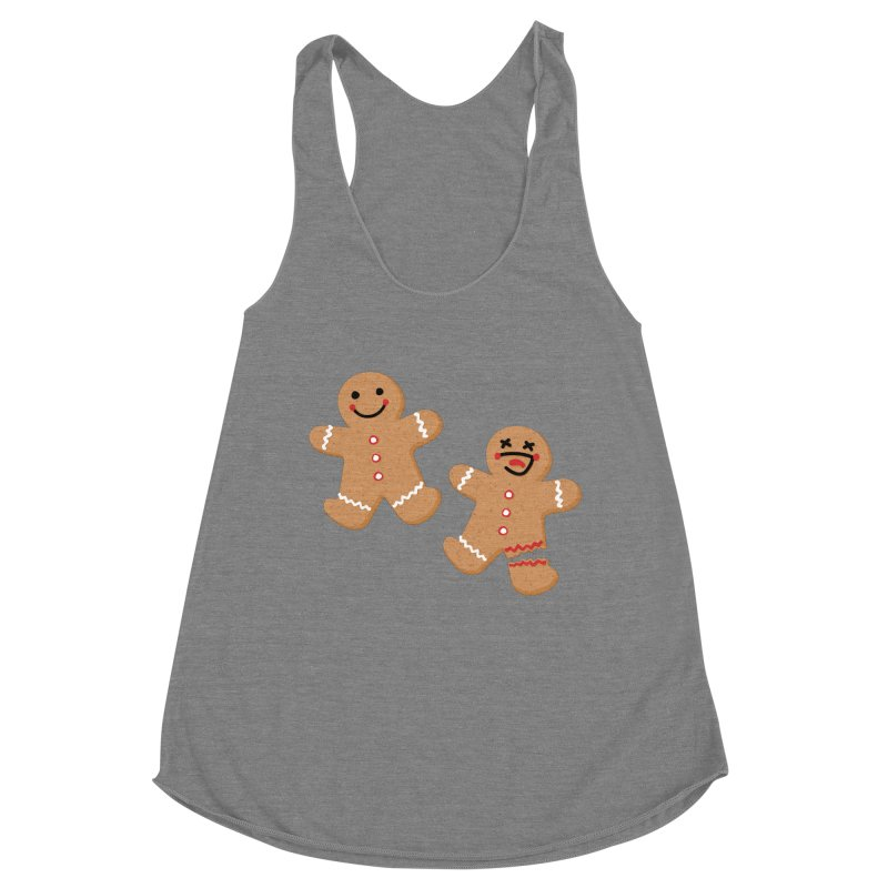 Gingerbread People Women's Tank by Dean Cole Design