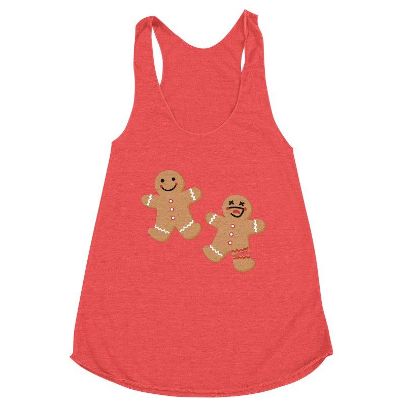 Gingerbread People Women's Tank by Dean Cole Design