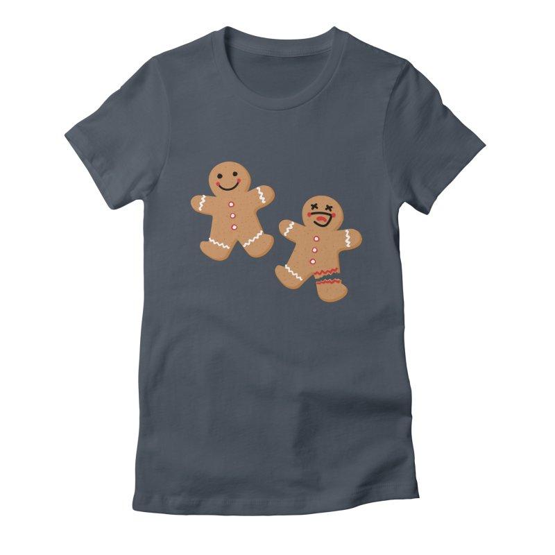 Gingerbread People Women's T-Shirt by Dean Cole Design