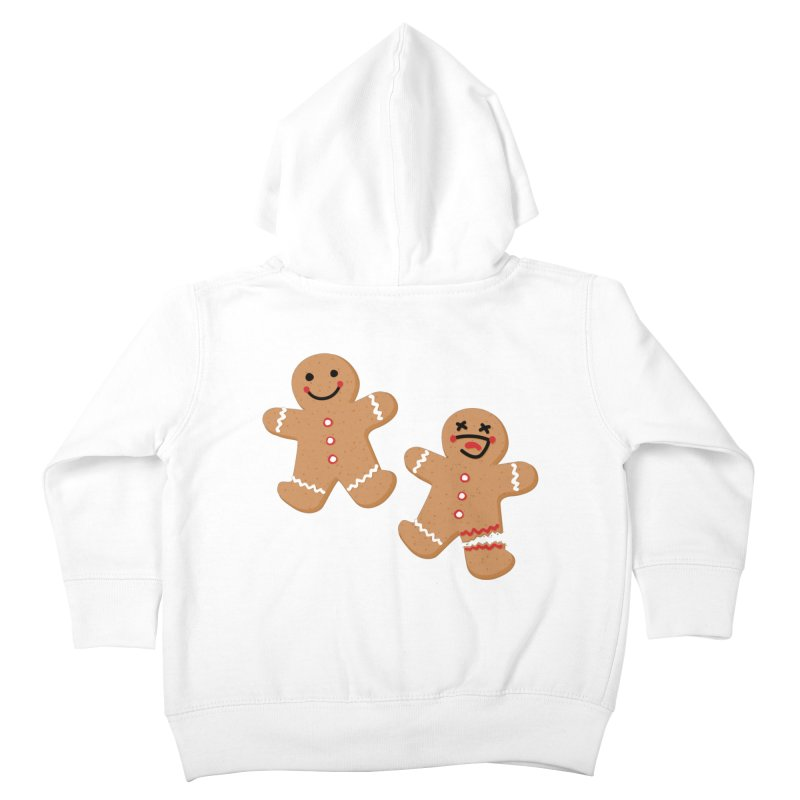 Gingerbread People Kids Toddler Zip-Up Hoody by Dean Cole Design