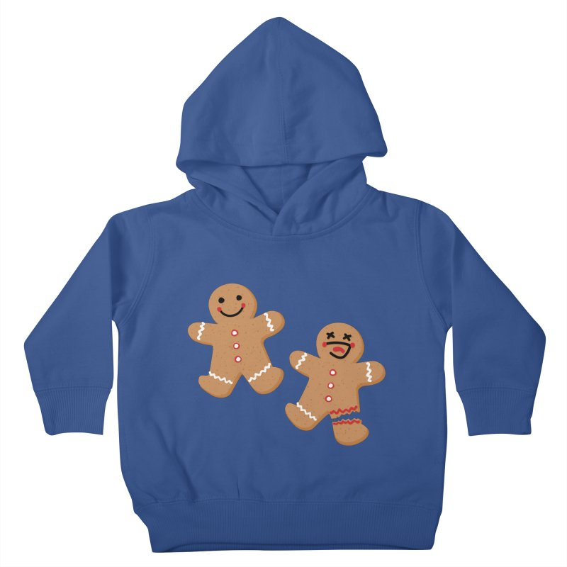Gingerbread People Kids Toddler Pullover Hoody by Dean Cole Design
