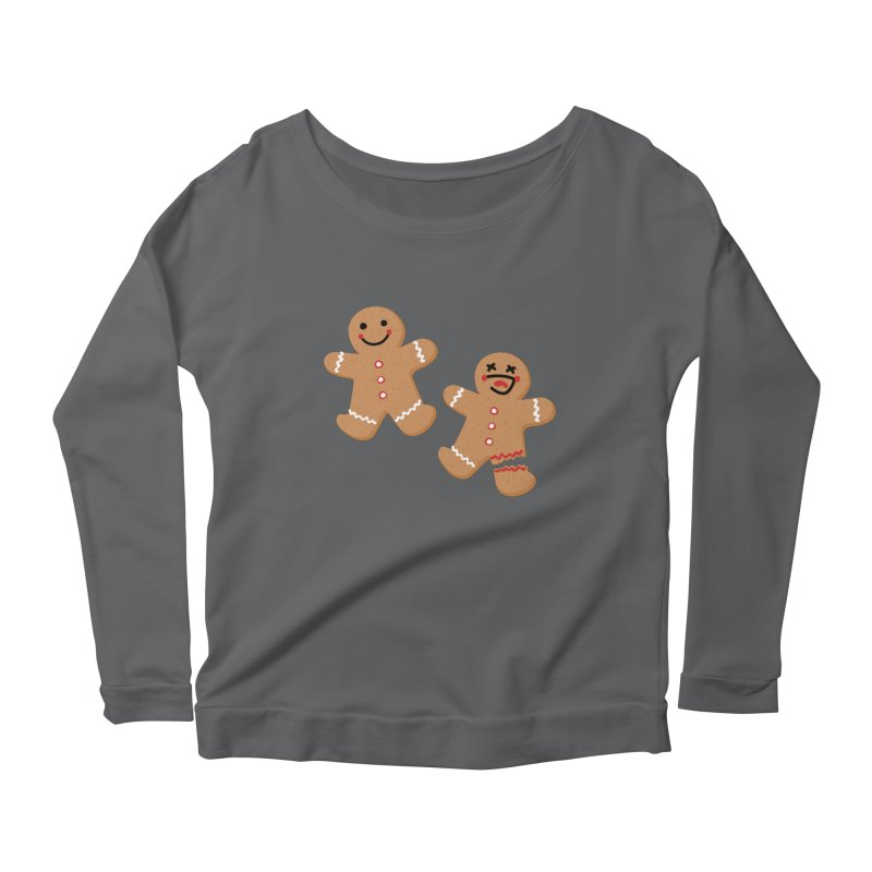 Gingerbread People Women's Longsleeve T-Shirt by Dean Cole Design
