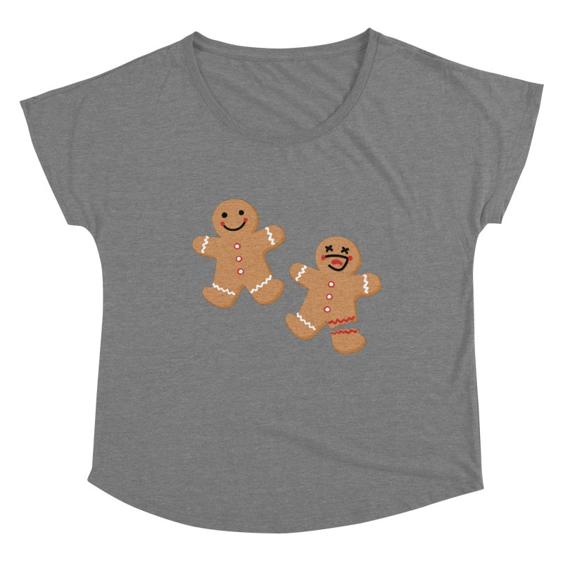 Gingerbread People Women's Scoop Neck by Dean Cole Design