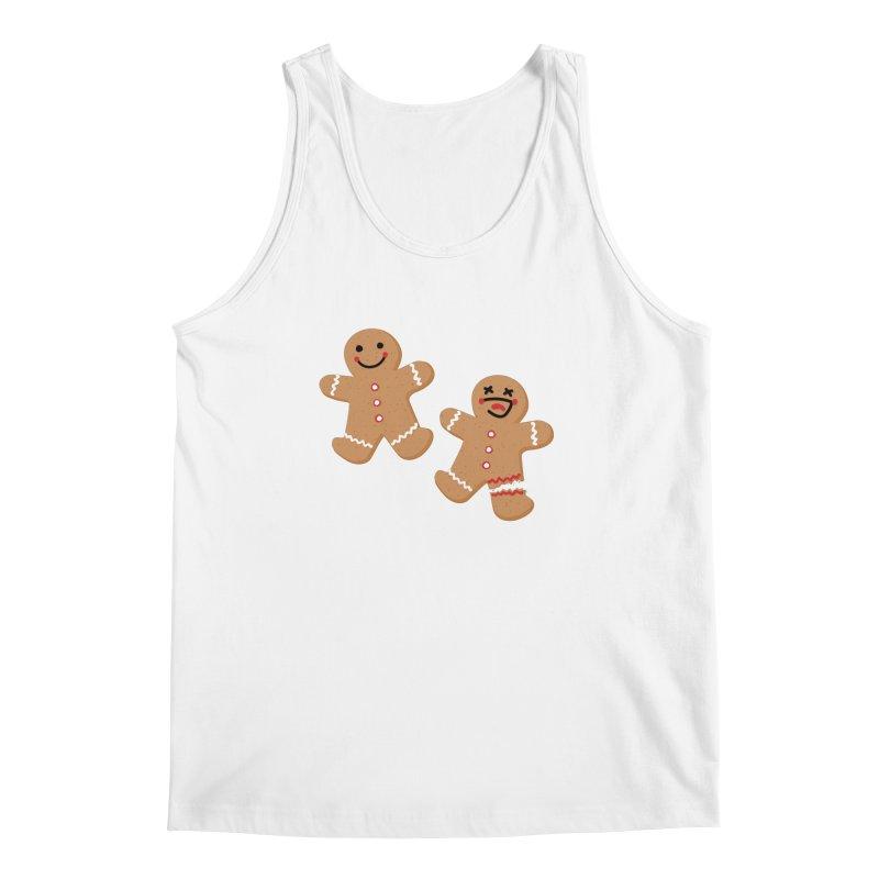 Gingerbread People Men's Regular Tank by Dean Cole Design