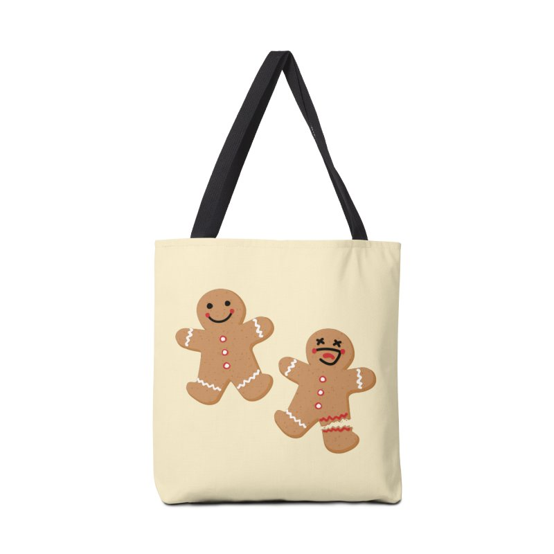 Gingerbread People Accessories Tote Bag Bag by Dean Cole Design