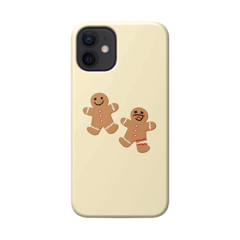 Gingerbread People Accessories Phone Case by Dean Cole Design