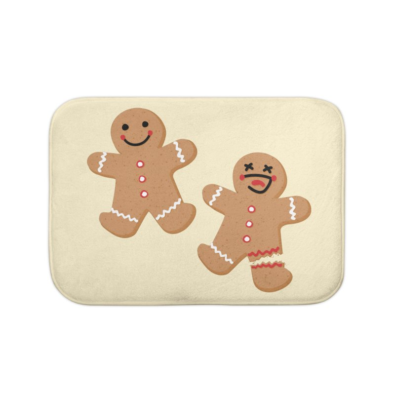 Gingerbread People Home Bath Mat by Dean Cole Design