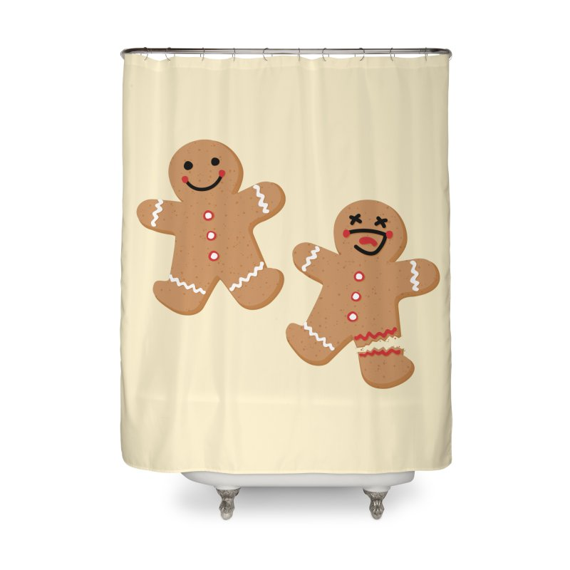 Gingerbread People Home Shower Curtain by Dean Cole Design