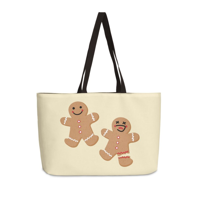 Gingerbread People Accessories Weekender Bag Bag by Dean Cole Design